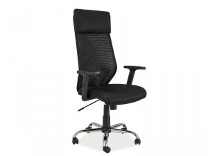 Fotel obrotowy Q211 czarny