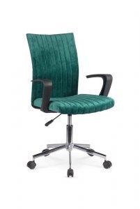 Fotel młodzieżowy DORAL ciemno zielony