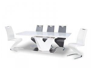 Stół rozkładany ALARAS III 160(220)x90 biały