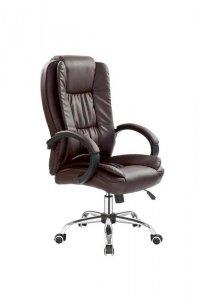 Fotel gabinetowy RELAX ciemny brąz