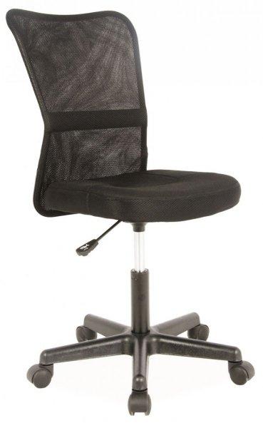 Fotel gabinetowy obrotowy Q-121 czarny