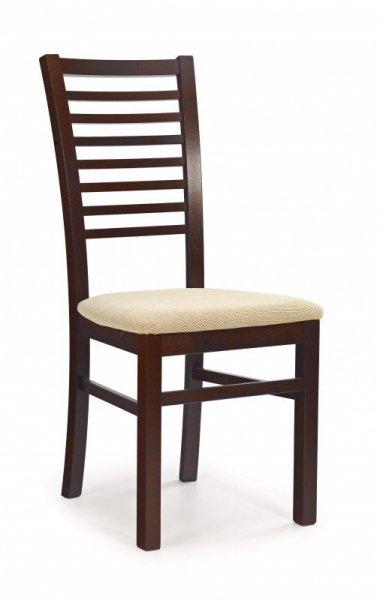Krzesło GERARD6 ciemny orzech/torent beige