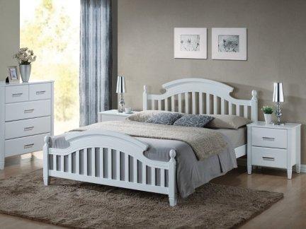 Łóżko drewniane LIZBONA 160x200