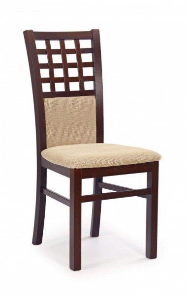 Krzesło GERARD3 ciemny orzech/torent beige