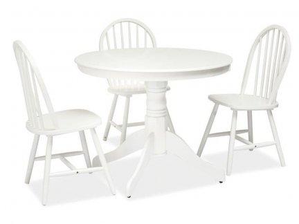 Stół drewniany WINDSOR  biały