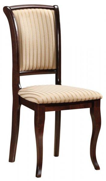 Krzesło drewniane MN-SC ciemny orzech T19