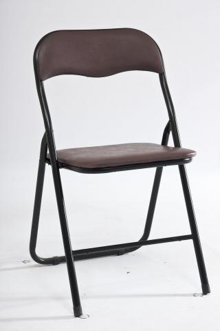 Krzesło TIPO brązowo-czarne