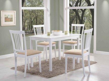 Stół FIORD 110x70 biały