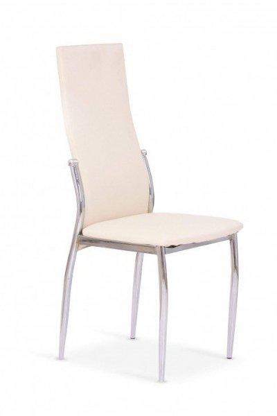 Krzesło K3 chrom/waniliowy