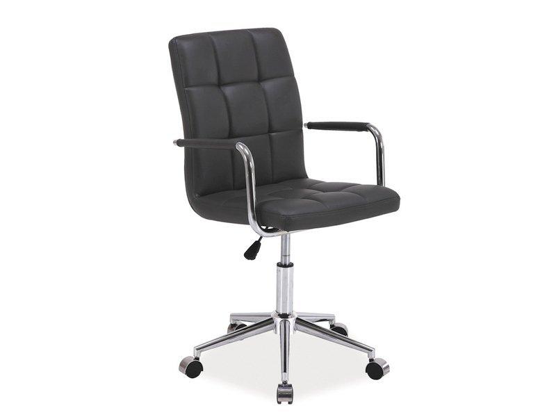 Fotel obrotowy Q022 szary