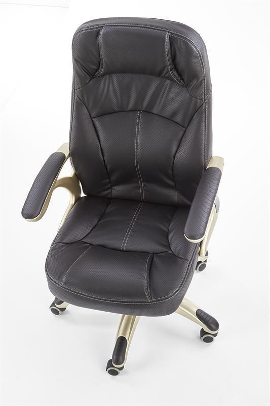 Fotel gabinetowy CARLOS czarny