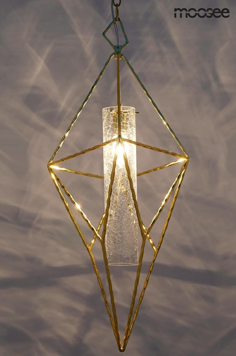 Lampa wisząca HAVANA L złota