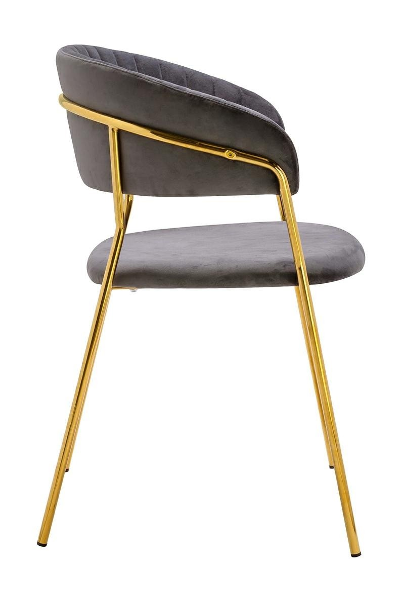 Krzesło MARGO ciemno szary