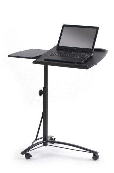 Stolik na laptop B14 czarny