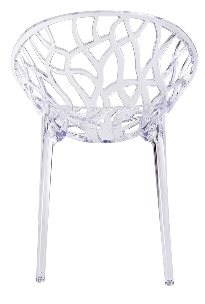 Krzesło KORAL transparentne