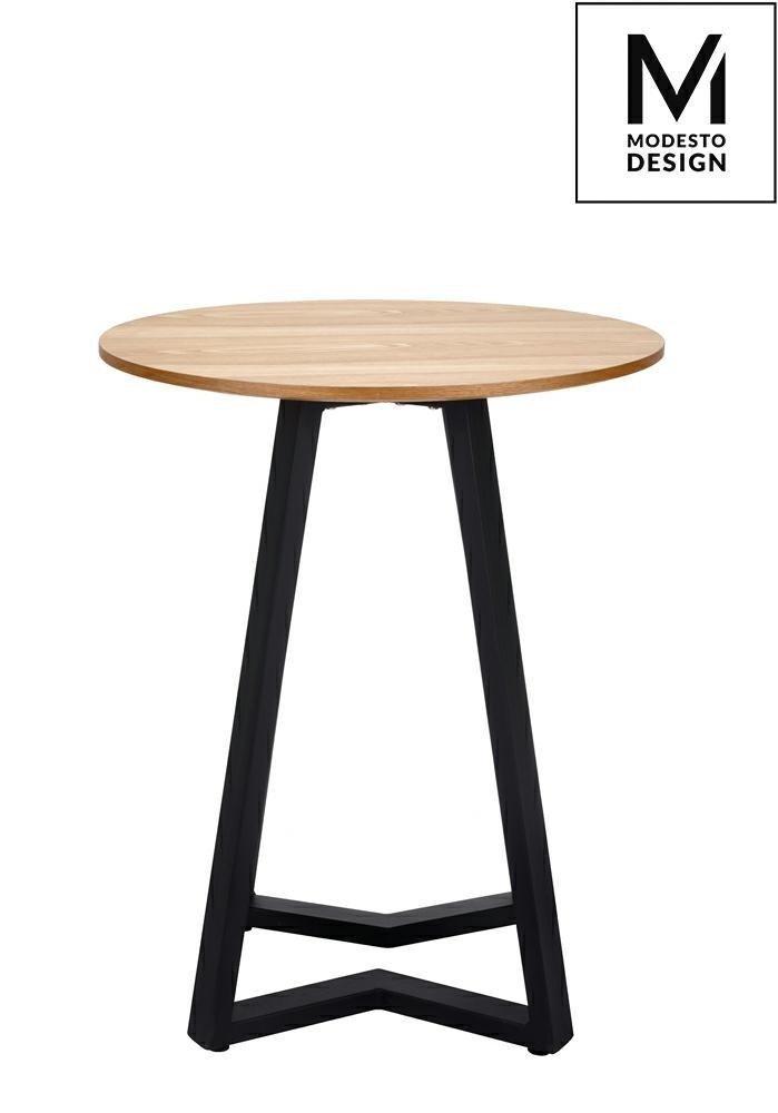 Stół TAVOLO FI 60 dąb/czarny