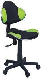 Fotel obrotowy Q-G2 zielono-czarny