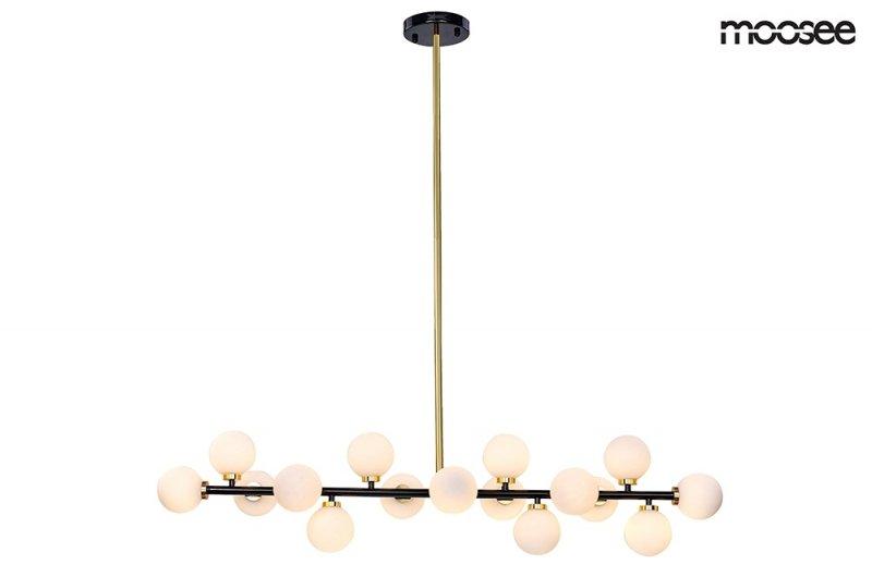 Lampa wisząca COSMO LEVEL M czarno-złota