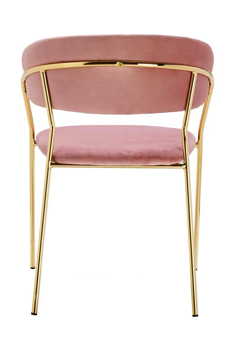 Krzesło MARGO brudny róż