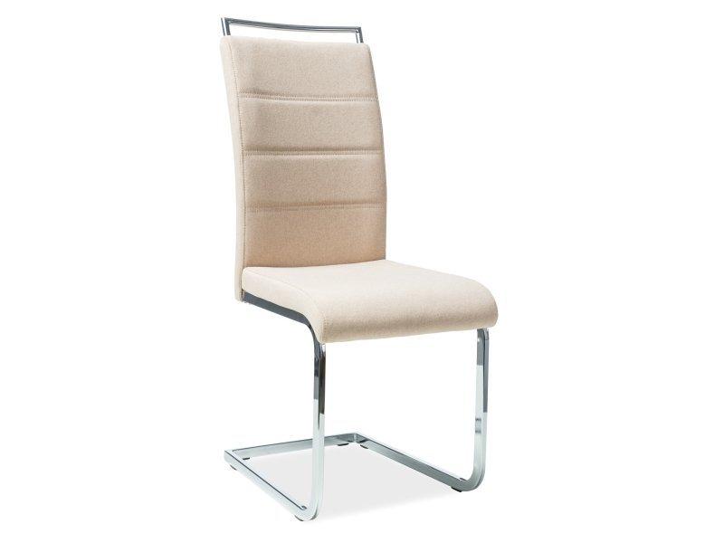 Krzesło H441 beżowe tkanina