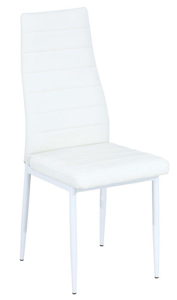 Krzesło H261 b biało/białe