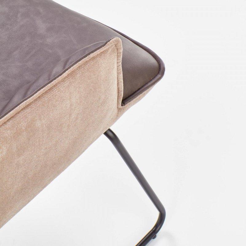 Krzesło K271 ciemno popielate-jasno popielate