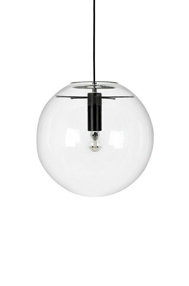 Lampa wisząca SANDRA 20 czarna