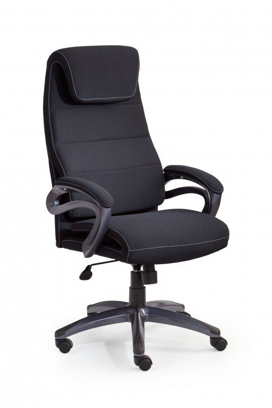 Fotel gabinetowy SIDNEY czarny