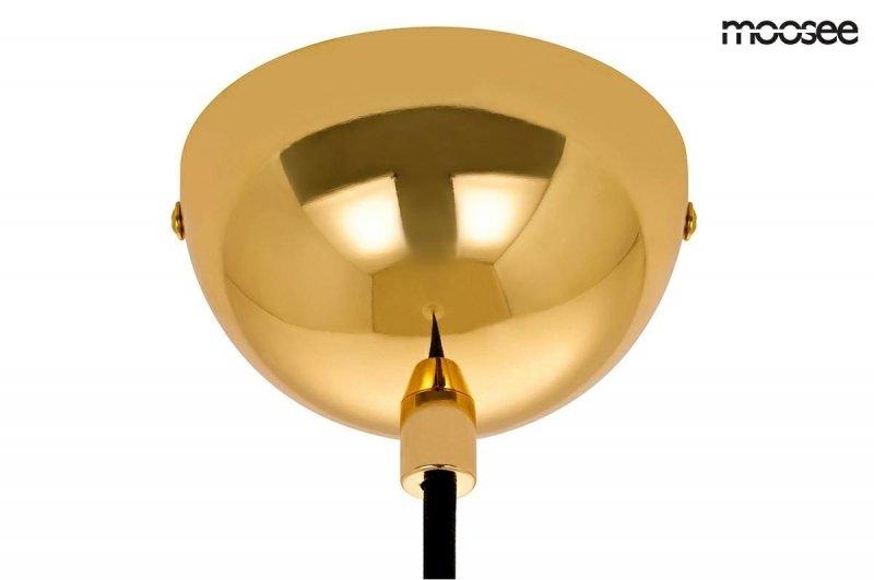 Lampa wisząca ARCO złota-marmur