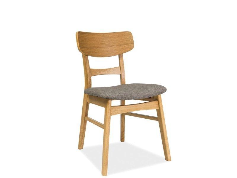 Krzesło CD-61 dąb/szare front