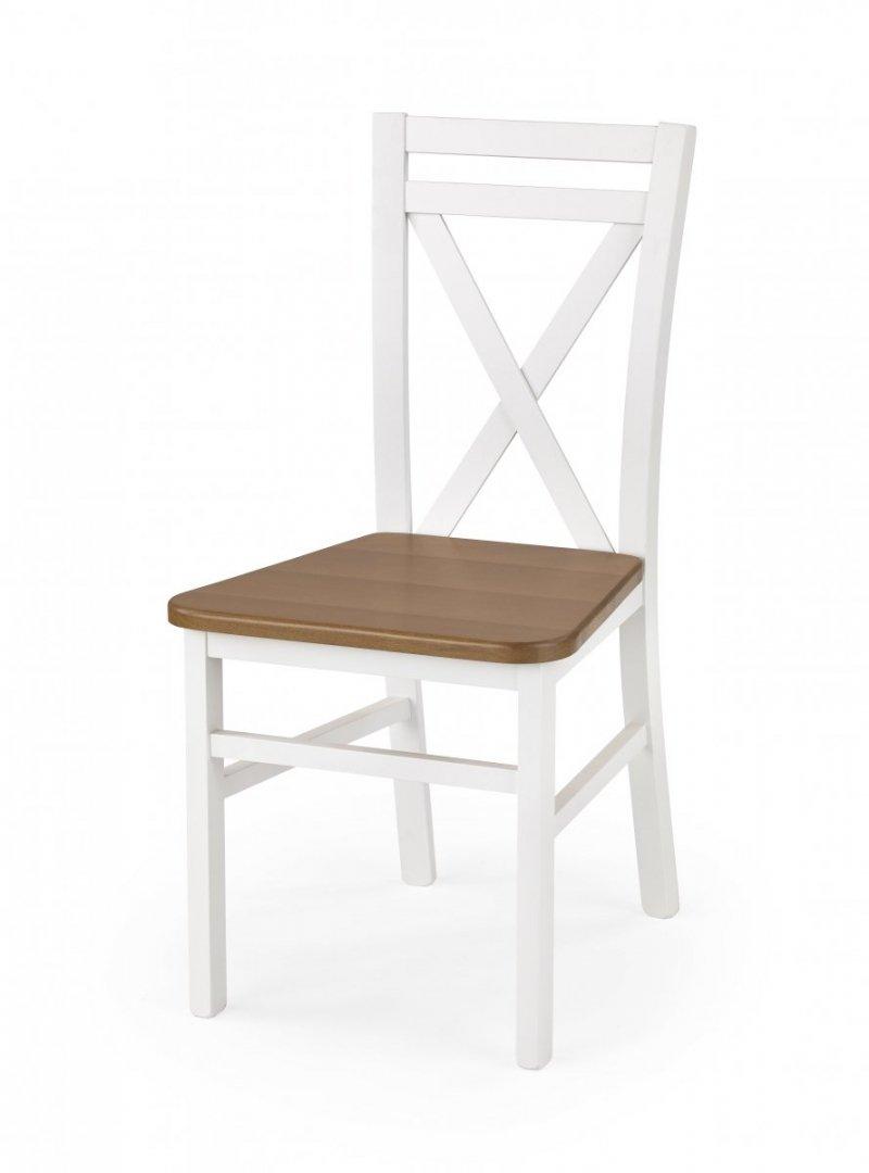 Krzesło DARIUSZ 2 białe/olcha