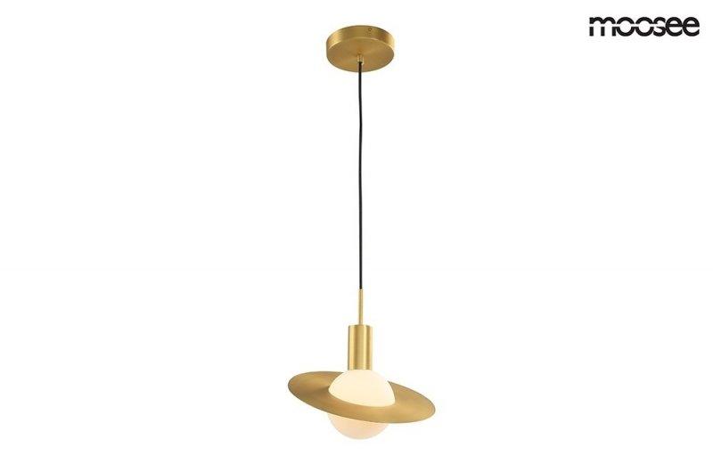 Lampa wisząca URAN złota