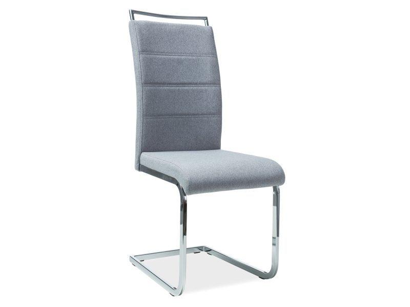 Krzesło H441 szare tkanina