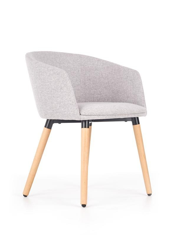 Krzesło K266 jasno popielate