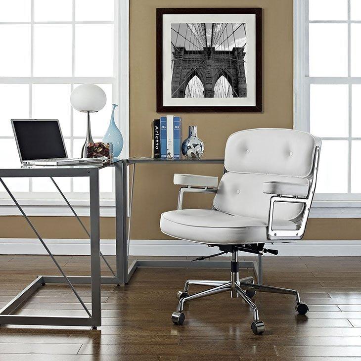Fotel biurowy ICON PRESTIGE PLUS biały