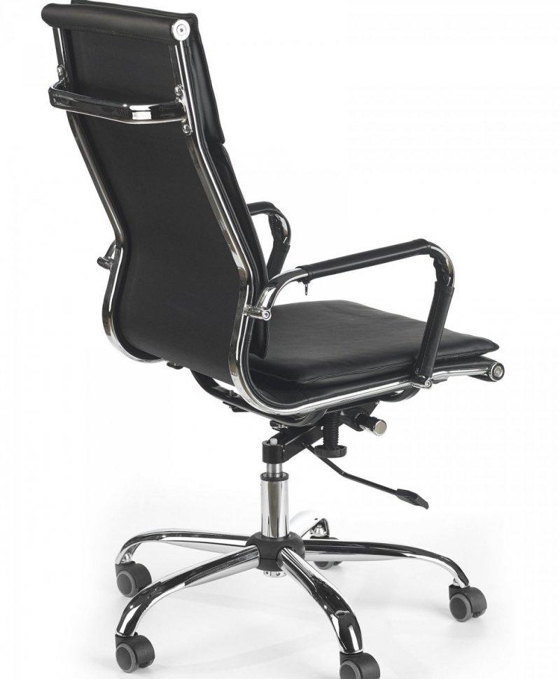Fotel gabinetowy MANTUS czarny