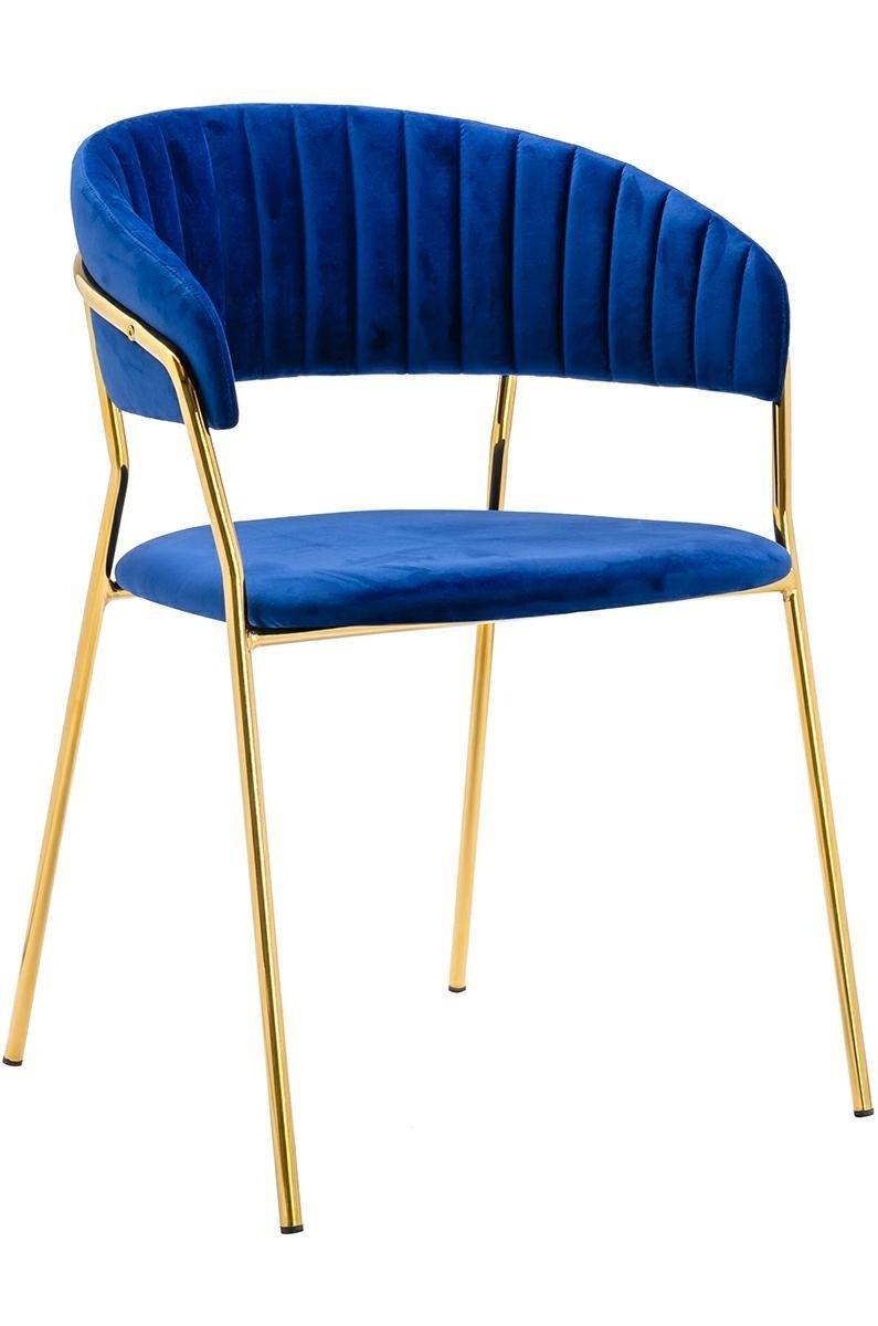 Krzesło MARGO ciemno niebieski