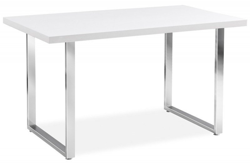 Stół RING biały/chrom
