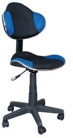 Fotel obrotowy Q-G2 niebieski/czarny