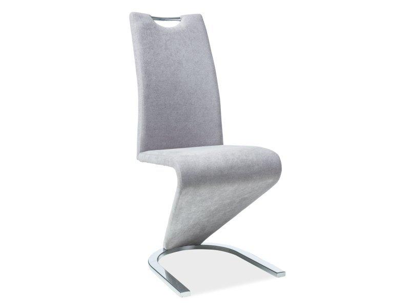 Krzesło H090 szary materiał