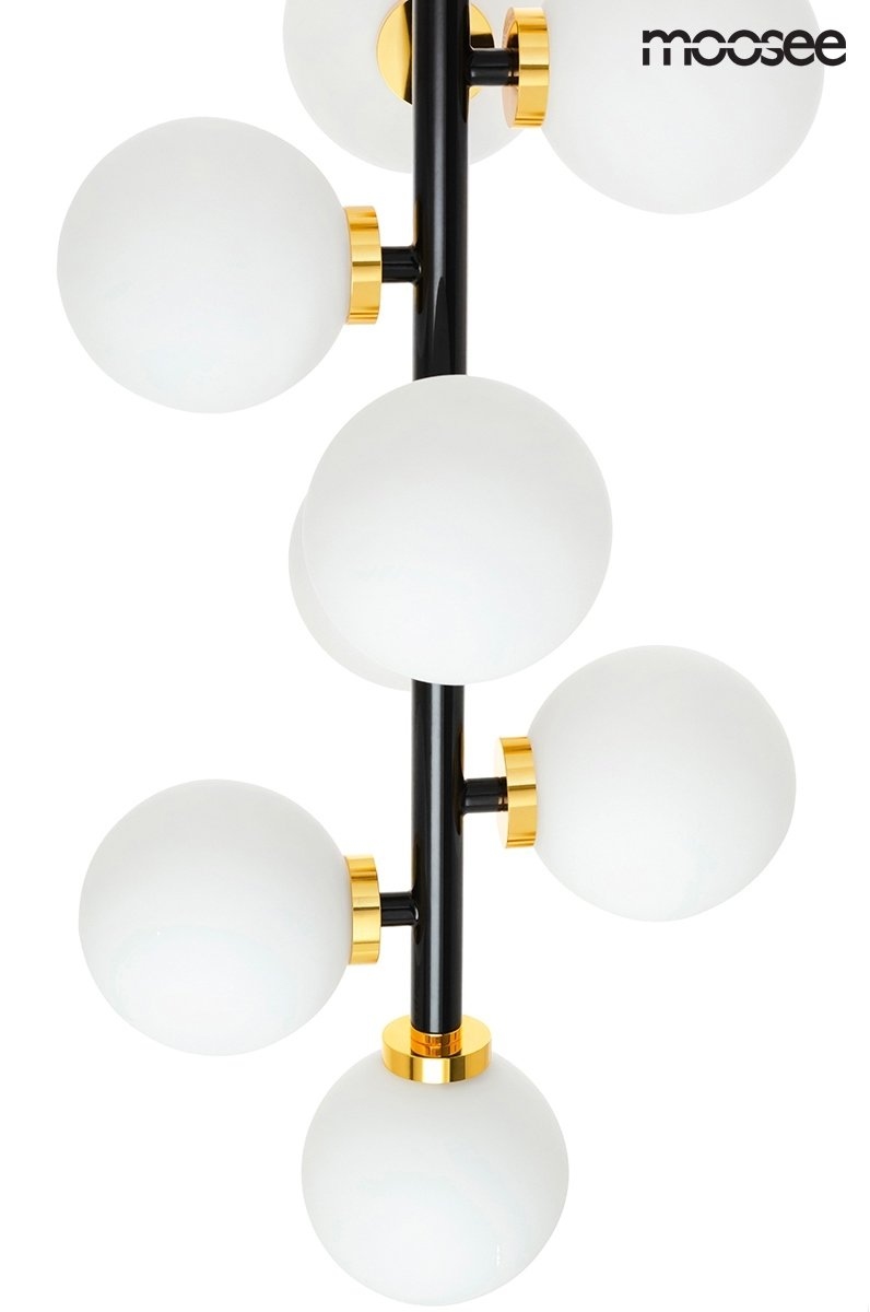 Lampa wisząca COSMO VERTICAL S czarno-złota