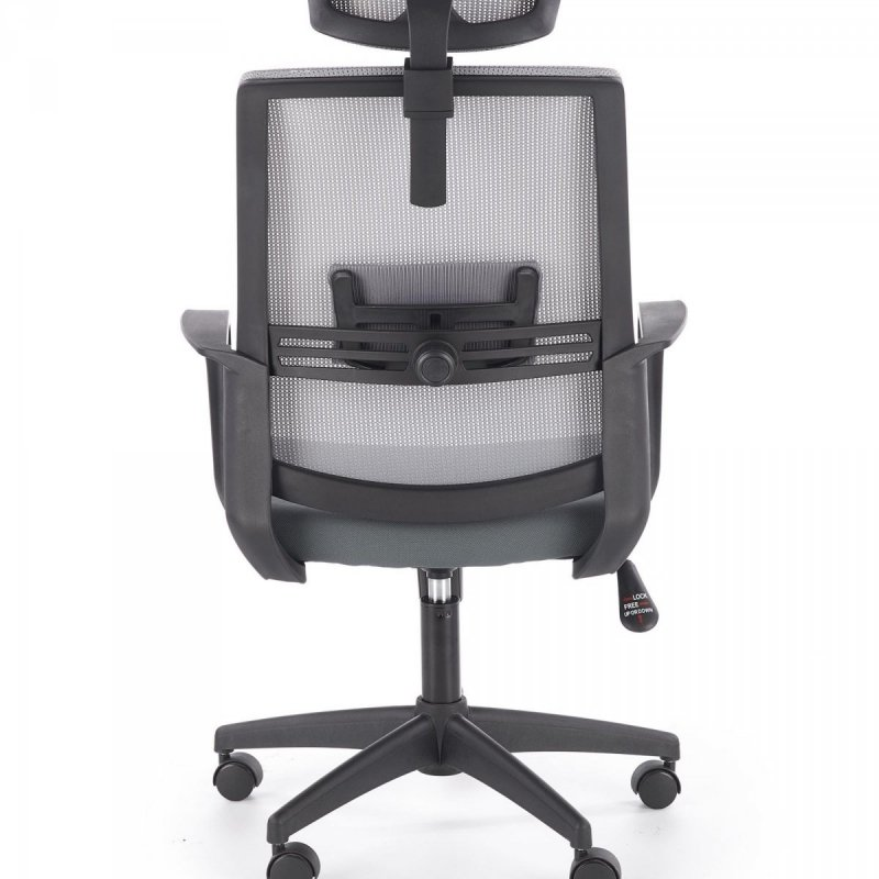 Fotel biurowy ARSEN popielaty