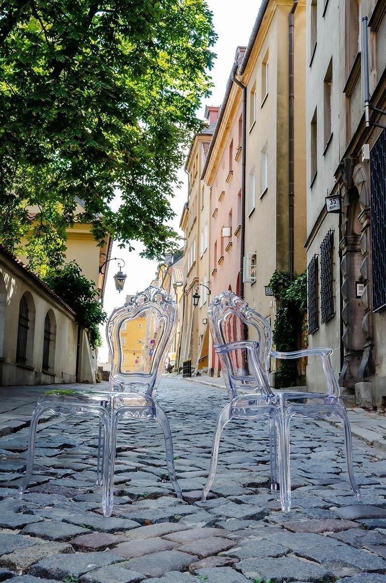 Krzesło KING transparentne
