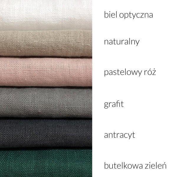 lniane rolety kolory