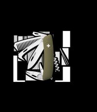 Scyzoryk SWIZA HO09 R-TT Olive KHO.0160.1050 GRAWER NA OSTRZU GRATIS !