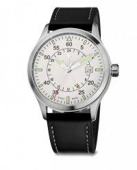 zegarek SIRIUZ GMT, SST, white, black WAT.0352.1004