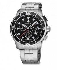 zegarek TETIS Chrono SST,black, metal WAT.0463.1002