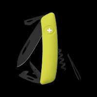 Scyzoryk SWIZA D03 ALLBLACK Żółty