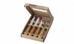 Zestaw noży OPINEL Essentials Natural Box Set 001300