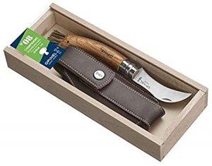 Nóż Składany Opinel dla grzybiarzy No 08 z etui GRAWER NA RĘKOJEŚCI GRATIS !